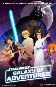 Poster di Star Wars Galaxy of Adventures