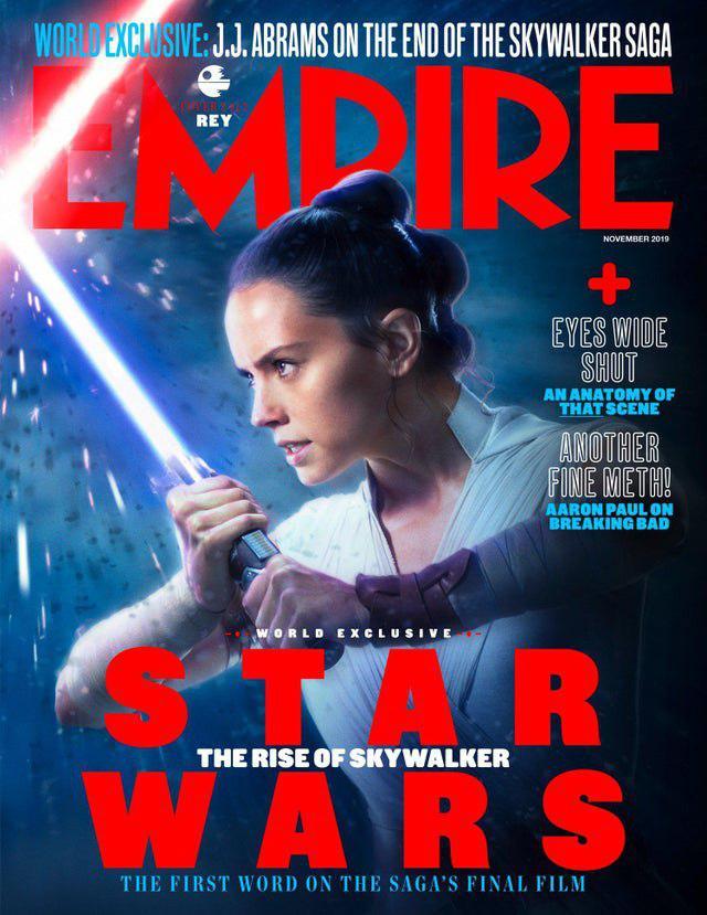 star wars ascesa di skywalker in copertina su Empire